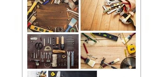 دانلود تصاویر با کیفیت ابزارآلات تعمیرات، آچار فرانسه، پیچ گوشتی، انبردست، پیچ، چکش