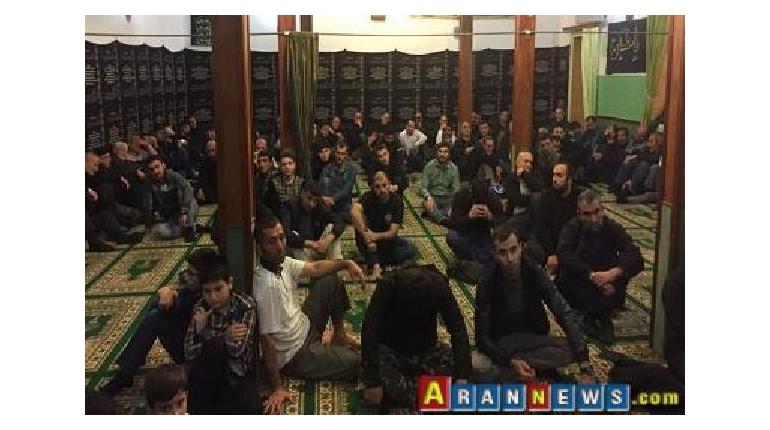 برگزاری مراسم شب هفت حضرت امام حسین(ع) در باکو