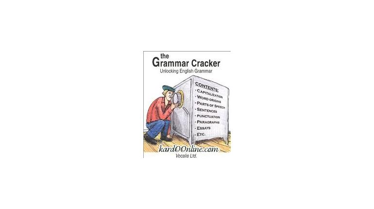 با The Grammar Cracker قفل گرامر را باز کنید !