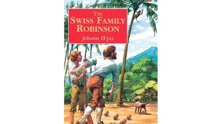 دانلود کتاب داستان انگلیسی سطح 3 - Swiss Family Robinson