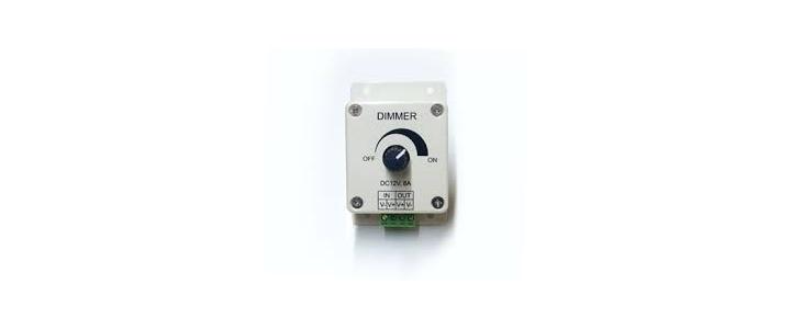 مدار دیمر برای کنترل ولتاژ لامپ