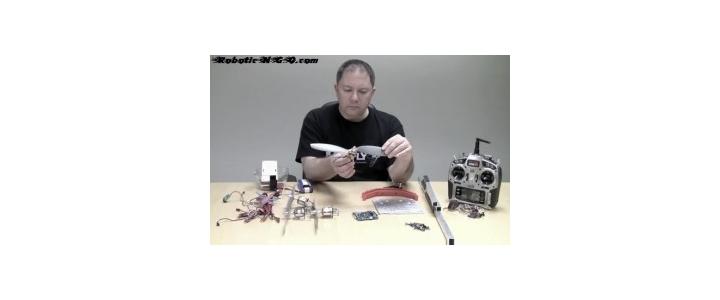 ساخت ربات پرنده قسمت اول