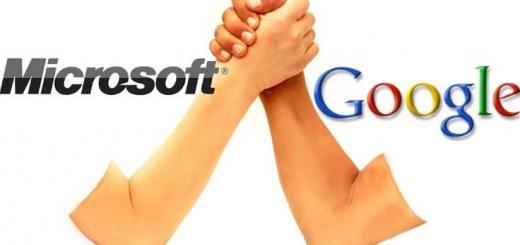 گوگل و مایکروسافت برای کنار گذاشتن تمامی شکایت های خود به توافق رسیدند