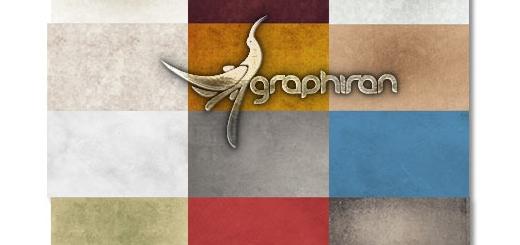 دانلود رایگان مجموعه ۱۸ تکسچر تایپوگرافی با کیفیت بالا