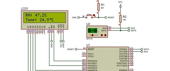 راه اندازی سنسور دما و رطوبت SHT10 با Bascom AVR  sht10_2