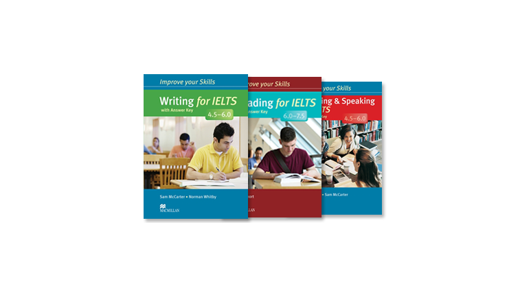 مجموعه Improve Your Skills for IELTS Macmillan 4.5-6.0