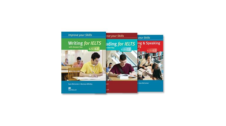 مجموعه Improve Your Skills for IELTS Macmillan 4.5-6.0