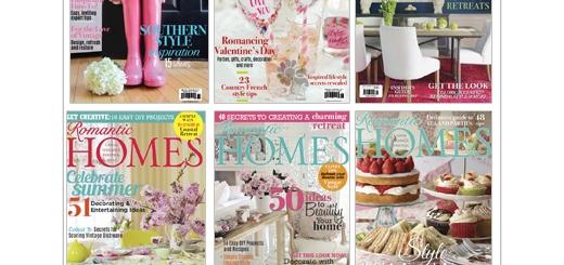 دانلود مجله دکوراسیون داخلی خانه رمانتیک و وسایل تزئینی