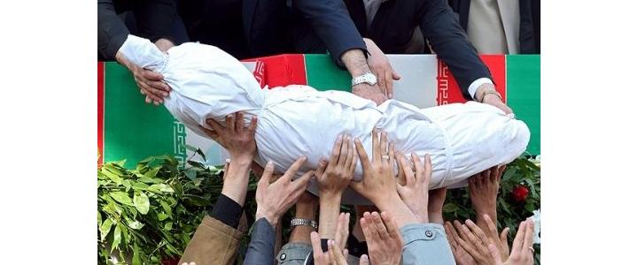 ورود پیکر 92 شهید گلگون کفن به کشور