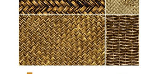 دانلود پترن های بافت سبد - Tileable Basket Weave Patterns